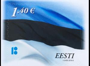 Estland EESTI 2018 Michel Nr. 915 Freimarkenserie Staatsflagge Unaghängigkeit
