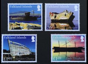 Falkland Inseln 2018 Nr 1357-60 Schiffswracks II Glengowan Lady Elizabeth Chance