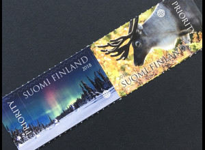 Finnland Finland 2018 Nr. 2555-56 Tourismus: Zauberhaftes Lappland Nordlichter