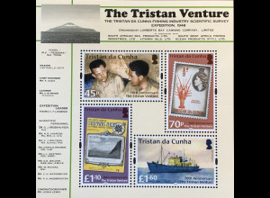 Tristan da Cunha 2018 Block 76 70th Anniversary The Tristan Venture