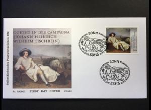 Bund BRD Ersttagsbrief FDC Nr. 3397 7. Juni 2018 Schätze aus deutschen Museen