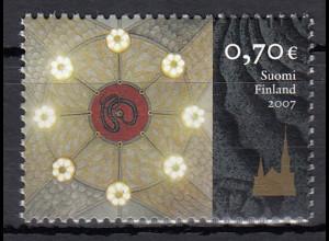 Finnland 2007 Michel Nr. 1849 100 Jahre Dom von Tampere
