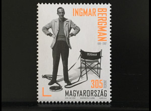 Ungarn Hungary 2018 Nr. 5944 100. Geburtstag von Ingmar Bergman Kino Film Regie