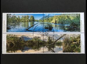 Liechtenstein 2018 Nr. 1898-1901 Naturschutzgebiet Hälos in Triesen Panoramen