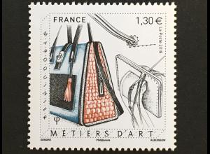 Frankreich France 2018 Nr 6984 Kunsthandwerk:Täschnerei Lederwaren Sattlerei
