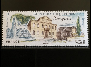 Frankreich France 2018 Nr 6985 Philatelistischer Frühlingssalon Sorgues
