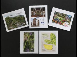 Madeira 2018 Nr. 379-83 Freimarken Neudrucke Tourismus Kultur Naturlandschaften