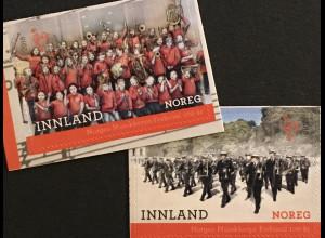 Norwegen 2018 Nr. 1968-69 100 Jahre Norwegischer Musikkorpsverband Chorgesang