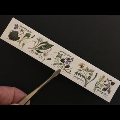 Schweden Sverige 2018 Michel Nr. 3219-23 Speisekammer Natur Essbare Pflanzen