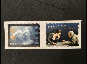 Schweden Sverige 2018 Michel Nr. 3232-33 100. Geburtstag von Ingmar Bergmann