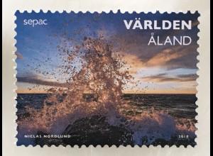 Aland 2018 Nr. 453 SEPAC: Naturschauspiele Fotografie Landschaften Tourismus