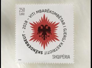 Albanien 2018 Michel Nr. 3576 Nationales Skanderbeg-Gedenkjahr