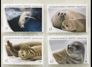 Australische Antarktis AAT 2018 Neuheit Robben Crabeater Seal Säugetiere