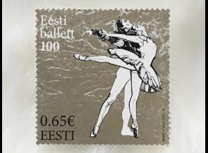 Estland EESTI 2018 Michel Nr 918 100 Jahre Estnisches Nationalballett Tanz
