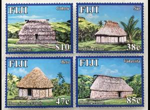 Fidschi Inseln FIJI 2016 Neuheit Inseldorf Navala Südseeparadies Hütten Urlaub