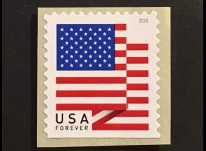 USA Amerika 2018 MIchel Nr. 5464 Freimarkenserie Flaggen aus Rolle
