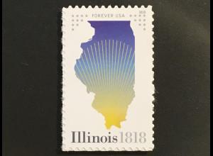 USA Amerika 2018 MIchel Nr. 5475 200 Jahre Bundesstaat Illinois