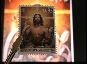 Vatikan Cittá del Vaticano 2018 Nr. 1924 Oster kirchliches Fest Sakrale Kunst