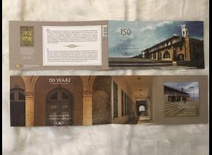 Zypern griechisch Cyprus 2018 Neuheit 150 Jahre Kloster Heiliger Aposel Andreas