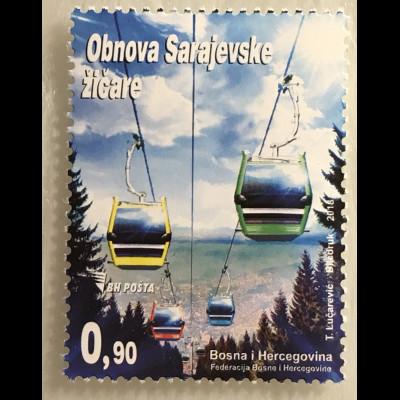 Bosnien Herzegowina 2018 Nr. 730 Seilbahn Verkehrsmittel Gütertransport