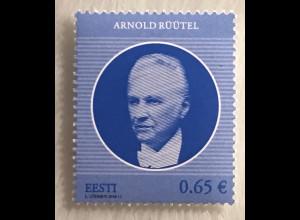 Estland EESTI 2018 Michel Nr 921 Arnold Rüütel Staatspräsident Politik