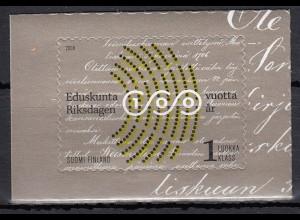 Finnland 2006 Michel Nr. 1785 100 Jahre Finnisches Parlament Sitzungssaal