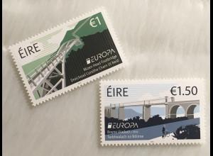 Irland 2018 Michel Nr. 2260-61 Europaausgabe Brücken Europacept Fußgängerbrücke