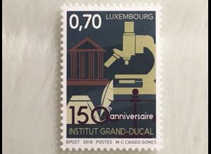 """Luxemburg 2018 Nr. 2174 150 Jahre """"Institut Grand-Ducal"""""""