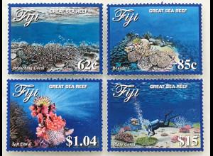 Fidschi Inseln FIJI 2017 Neuheit Great Sea Riff Korallenriff Korallen Tauchen