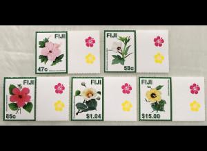 Fidschi Inseln FIJI 2016 Neuheit Hibiskus Eibisch Malvengewächse Blumen Flora