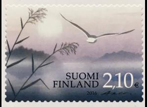 Finnland Finland 2018 Neuheit Trauermarke Tod Vergänglichkeit