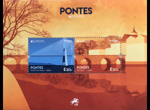 Portugal 2018 Block 430 Europaausgabe Brückenmotive Europacept Pontes