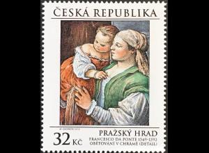 Tschechische Republik 2018 Nr. 979 Kunstschätze der Prager Burg Gemälde Ponte