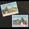Vatikan Cittá del Vaticano 2018 Nr. 1927-28 Europaausgabe Brücken Europacept