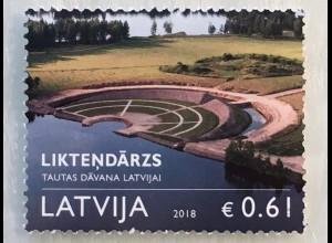 Lettland Latvia 2018 Nr. 1045 Likteņdarzs - Gartenanlage zur Hundertjahrfeier