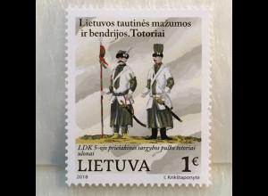 Litauen Lithuania 2018 Nr 1278 Ethnische Minderheiten Tataren muslim. Turkvölker