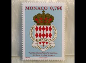Monako Monaco 2018 Nr. 3398 150 Jahre Komittee des Romanus-von-Rom-Festivals