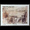 Monako Monaco 2018 Michel Nr 3396 Europaausgabe Brücken Eisenbahnbrücke Kunst