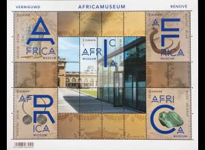 Belgien 2018 Block 225 Wiedereröffnung Königliches Museum für Zentralafrika