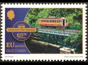 Insel Man 2018 Neuheit Europaausgabe Brückenmotive Europacept Eisenbahn
