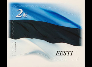 Estland EESTI 2018 Michel Nr 915 Staatsflagge 100 Jahre Unabhängigkeit Politik