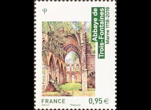 Frankreich France 2018 Nr 7052 Tourismus Zisterzienser-Kloster Trois-Fontaines