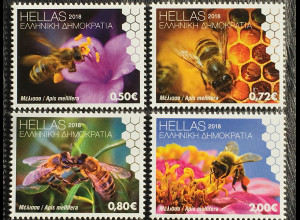 Griechenland Greece 2018 Neuheit Weltbienentag Tierschutz Honigbiene Wildbiene