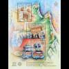 San Marino 2018 Block 82 UNESCO-Welterbe Historisches Zentrum Monte Titano