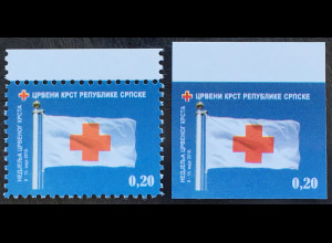 Bosnien Herzegowina Serbische Republik 2018 Nr. 42 Zwangszuschlag Rotes Kreuz