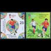 Serbien Serbia 2018 Neuheit Fußballweltmeisterschaft in Russland Ballsport