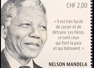 Vereinte Nationen UN UNO Genf 2018 Neuheit Nelson Mandela Tag 100. Geburtstag