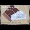 Liechtenstein 2018 Neuheit 500 Jahre Biedermann Haus Schellenberg Architektur