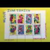 Liechtenstein 2018 Neuheit Musik zum Tanzen bunte Illustrationen Jazz Flamenco