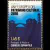 Andorra spanisch 2018 Neuheit Europäisches Jahr des Kulturerbes Sharing Heritage